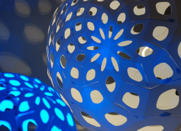 decorative spiral lights by adamlamp