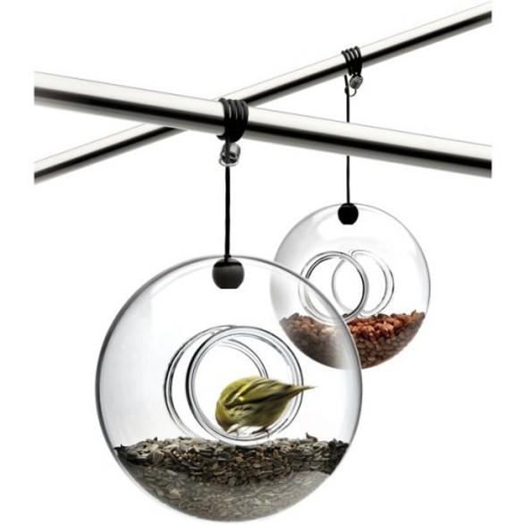 Eva Solo glass bird feeder