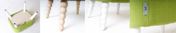 baba puff folk stool