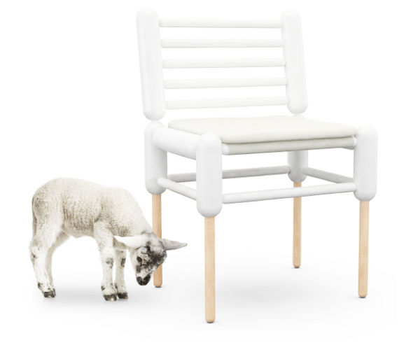 cheviot chair by kallbrand inspired by cloning