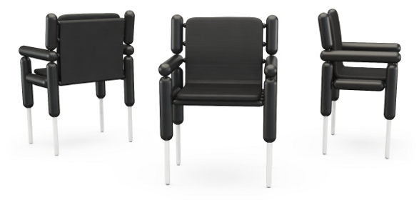 ouessant chairs inspired by cloning by kallbrand