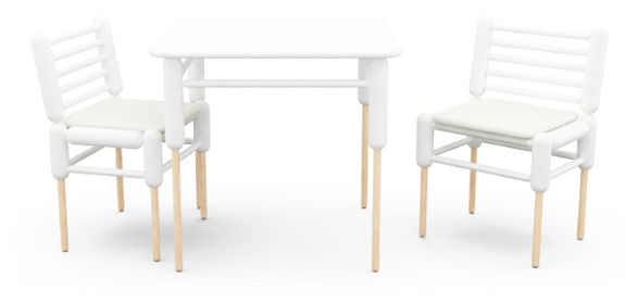 perendale table inspired by cloning by tomas ekstrom