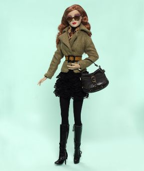 citysass collectible fashion doll