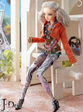 j-doll collectible fashion doll
