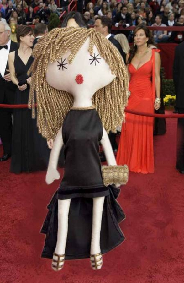 lalouska red carpet collectible doll