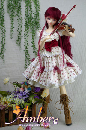 amber bjd collectible doll