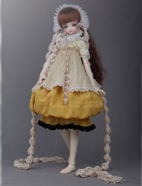 april bjd collectible doll