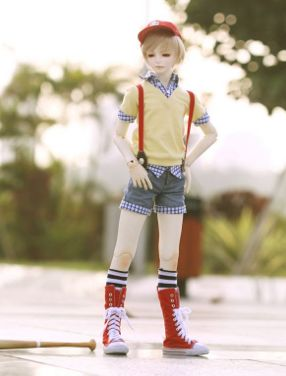 joe bjd collectible doll