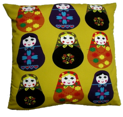 decorative pillow inspired by russian folk 2