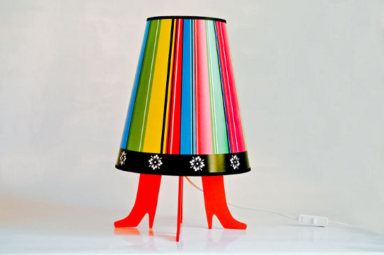 she lamp inspired by folk dress