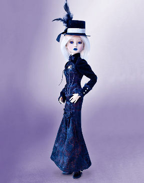delilah noir onyx collectible doll