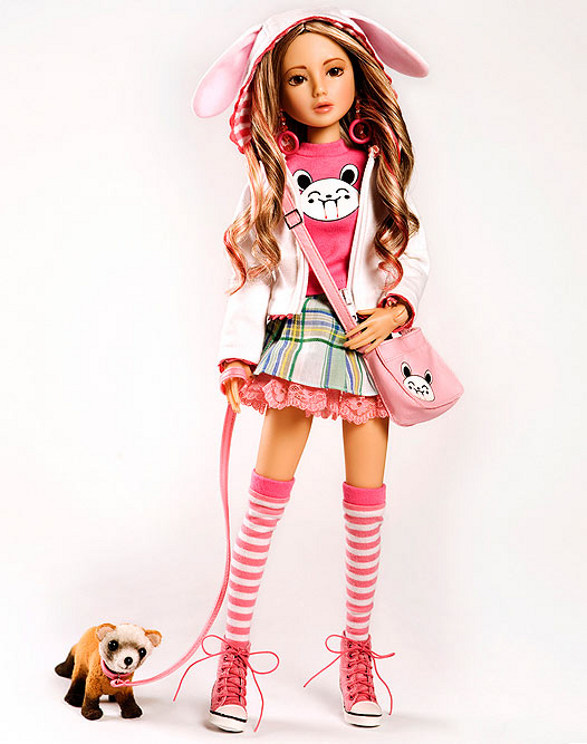 delilah noir pink collectible dolls