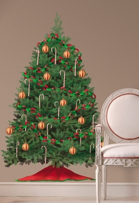 Christmas Tree Wall Decal by Room Mates Peel and Stick