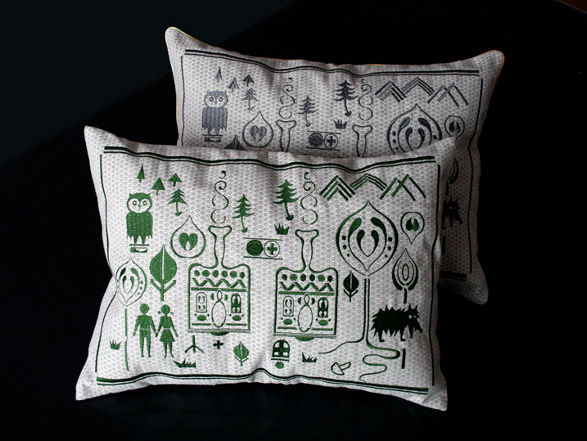 cuento cushions