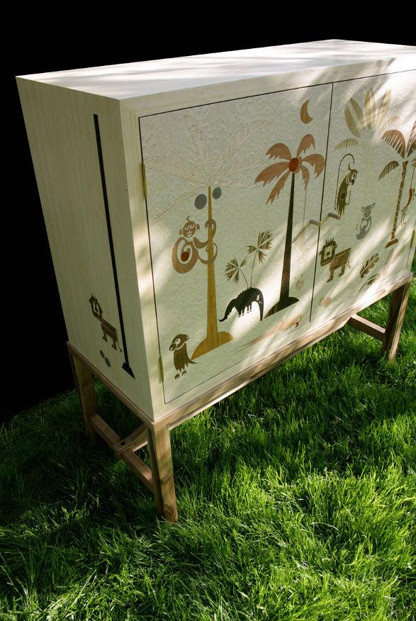 mudo design coco cupboard for connaissers