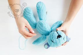 diy teddy bear by boska's teddies