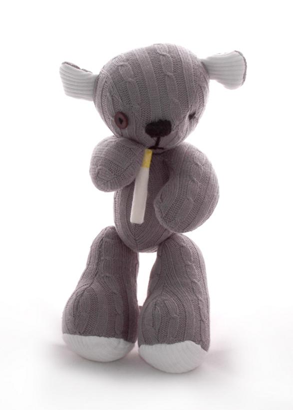 mr not-too-kind teddy bear by boska's teddies