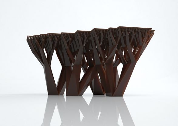 fractal.mgx table by materialise.mgx