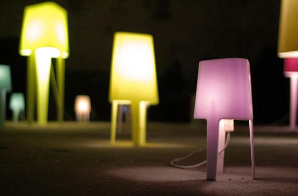 corian lamps by tomek rygalik