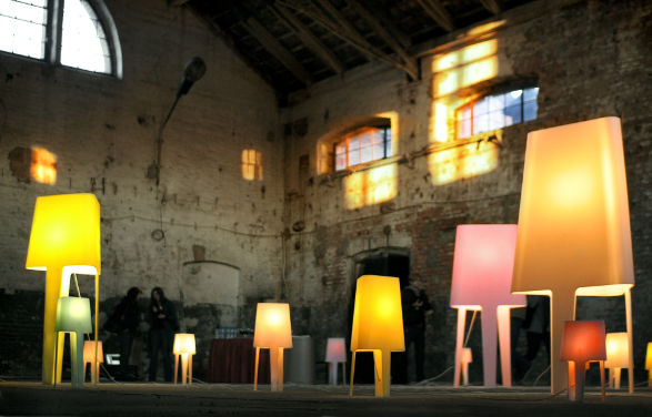 GENOTYP LAMPS MADE OF CORIAN