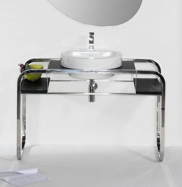 marcel stainless steel console for your bathroom