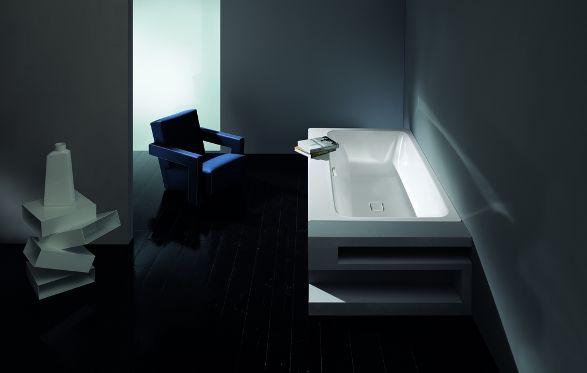 asymmetric duo bathtube