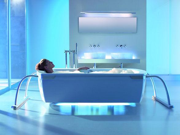 emotion enlighted bathtube