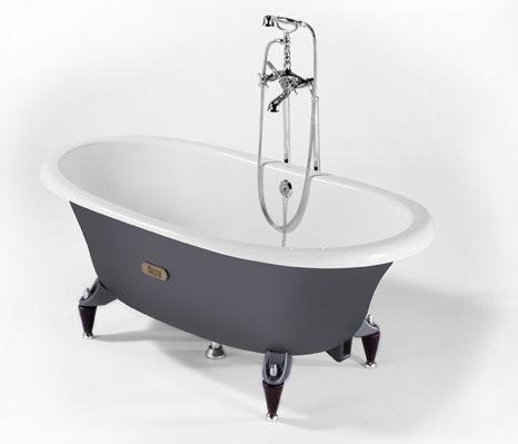 newcast iron bathtube