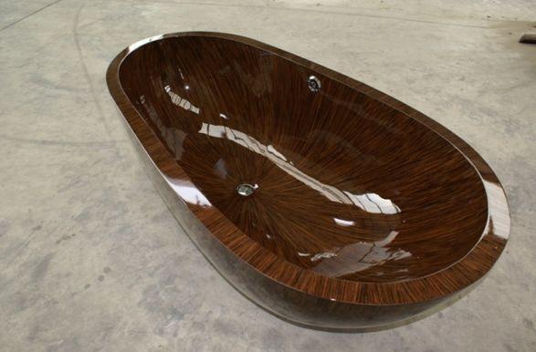sailor wooden bathtube