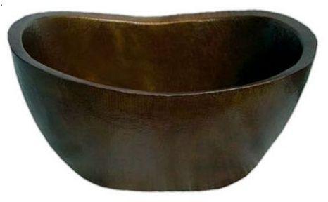 varinia copper bathtube