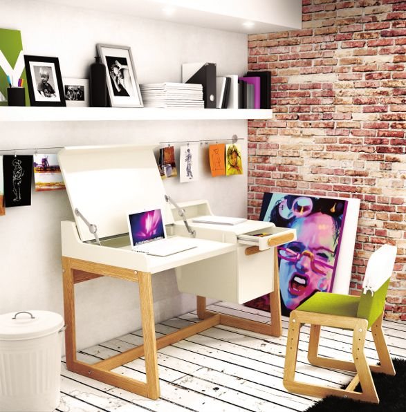 timoor first home office desk