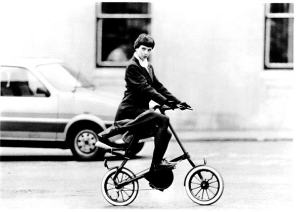 strida famous foldable bike 1988