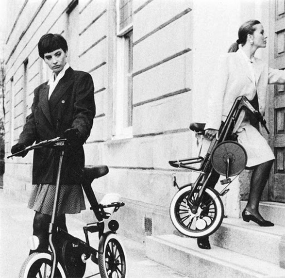 strida famous foldable bike for commuters 1988