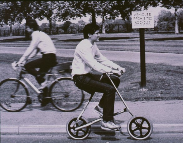 strida foldable bike 20 years ago