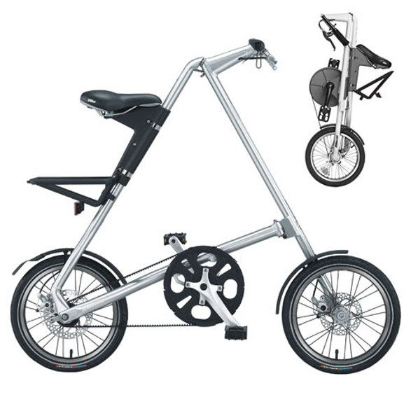 strida foldable bike for commuters