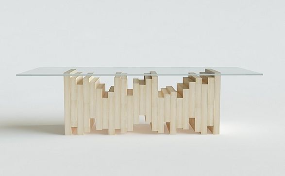 ekg coffee table
