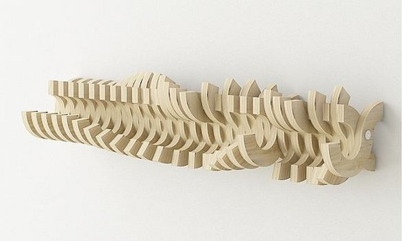 hanger vertebrae inspired by human body