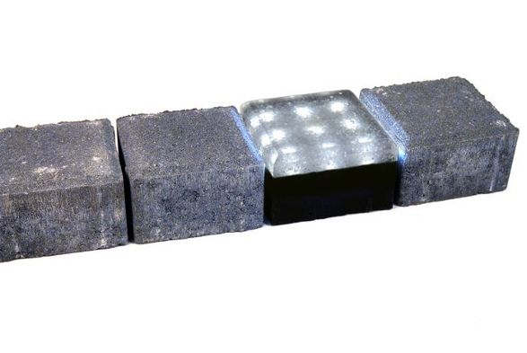 bruklux outdoor illuminant cobblestone