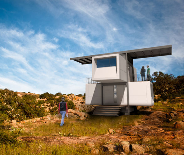 zeroHouse self-sufficient mini house