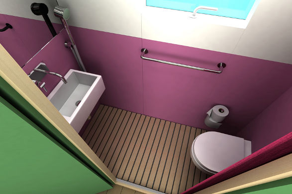 mini house in scandinavian style 3
