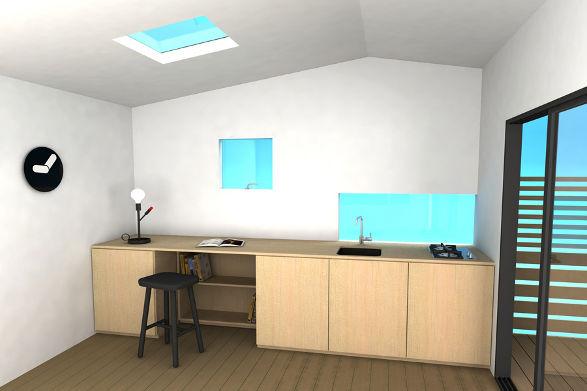 mini house in scandinavian style 4