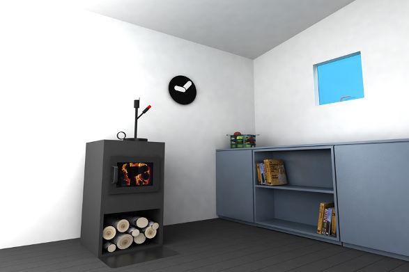 mini house in scandinavian style 5