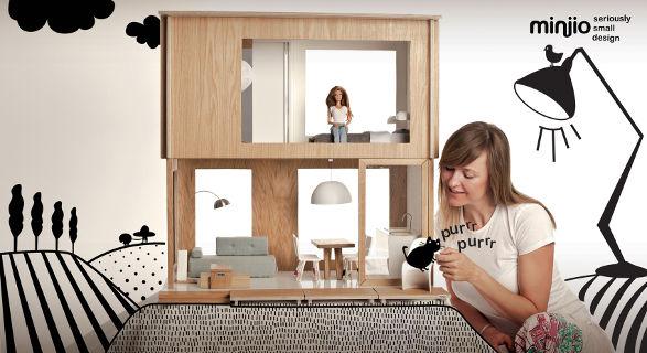 miniio dollhouse for barbie