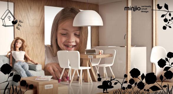 miniio dollhouse for collectible dolls