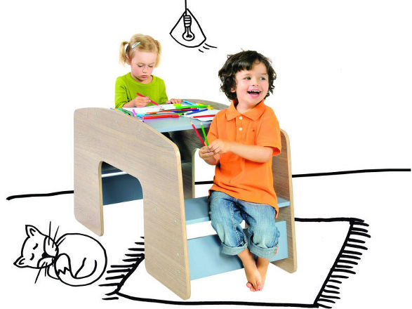 swing table for children by meble vox