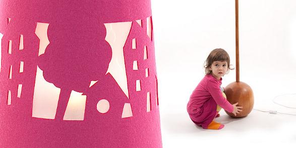 mukaki houses lamp for childrens room