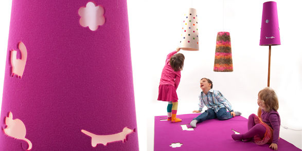 mukaki lamps and decorations for kid's room
