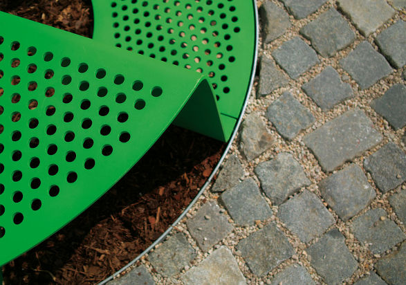 sinus tree grid and bench by mmcite