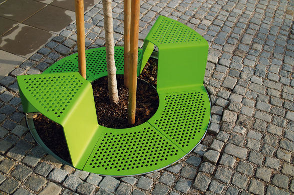 sinus tree grid with seats by mmcite