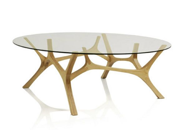 elk coffee table